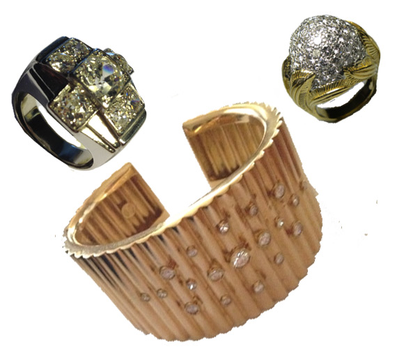 Antique, vintage and second hand Jewelery